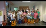 Μαθητική Επίδειξη τμημάτων κιθάρας των καθηγητών κ. Θάνου Μήτσαλα,  κ. Νίκου Κυριακίδη και κ. Κων/νου Μητσιγκόλα